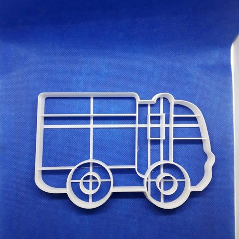 Télécharger fichier 3D camion de pompiers à l'emporte-pièce, 3d4you