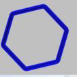 Télécharger plan imprimante 3D gatuit emporte-pièce hexagonal, 3d4you