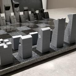 20190209_201036.jpg Download STL file 3D Modern Sleek Minimalist Chess Pieces • 3D printing model, ajdoiron68