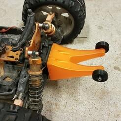 20210108_171646.jpg Download STL file DHK Maximus wheelie bar • Object to 3D print, nicolastalbot