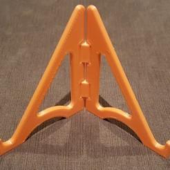 20200405_201204.jpg Download STL file FoldableTablet holder • 3D printing design, nicolastalbot