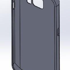 S7 Case face view.jpg Télécharger fichier STL Samsung S7 Case • Design pour impression 3D, nicolastalbot