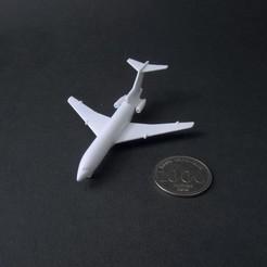 boeing 727-100 - 3d prints - finished 1 - IMG_2840 copy.jpg Download STL file Boeing 727-100 Scale 1:500 • 3D printer design, heri__suprapto