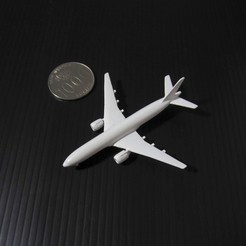 Download free 3D printing models Boeing 777-200, scale 1:1000, heri__suprapto