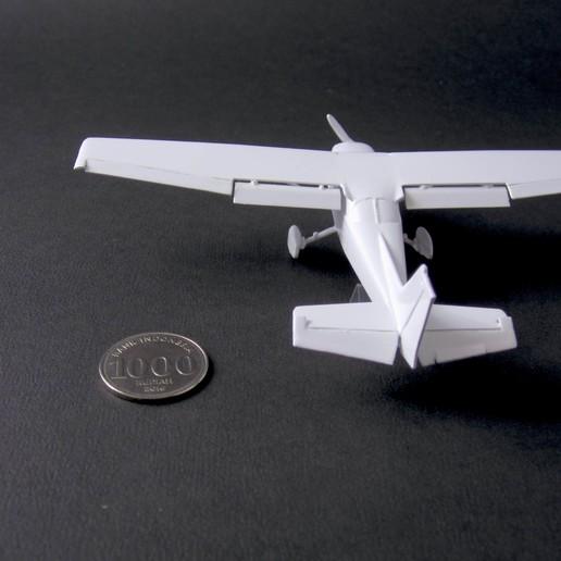 3 cessna 172 skyhawk - pla - finished 6 - IMG_2377 copy.jpg Download free STL file Cessna 172 Skyhawk 1:72 • 3D print design, heri__suprapto