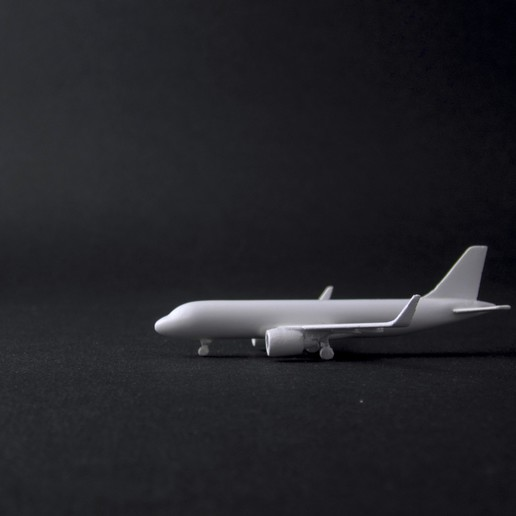 Download STL file Airbus A320neo 1:500 Scale Model • Object to 3D print, heri__suprapto