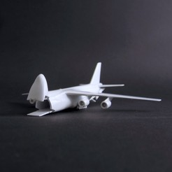 an-124 - finish 11 - IMG_2887 copy.jpg Download STL file Antonov An-124 Ruslan Scale 1:500 • 3D printable template, heri__suprapto
