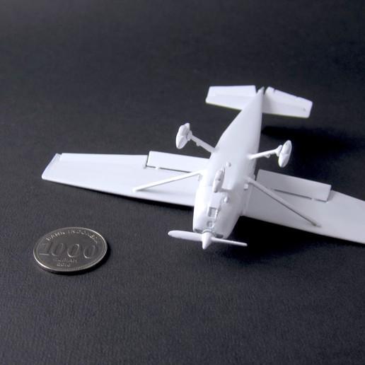 3 cessna 172 skyhawk - pla - finished 4 - IMG_2375 copy.jpg Download free STL file Cessna 172 Skyhawk 1:72 • 3D print design, heri__suprapto