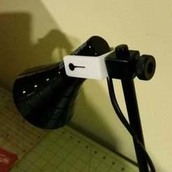 Télécharger fichier STL gratuit Remplacement de la lampe IKEA Lagra par un support pivotant • Plan à imprimer en 3D, atreidae