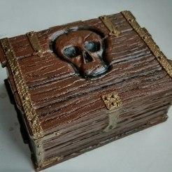 Download 3D printer files Pirate chest, serega1337