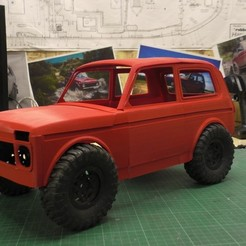 STL files Lada Niva , serega1337