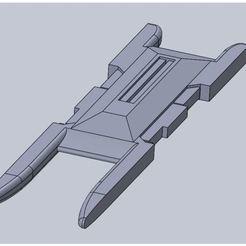 Imprimir en 3D gratis Báscula 1/10ª AGM-65 Maverick y LAU-117 riel de lanzamiento, dlcook083