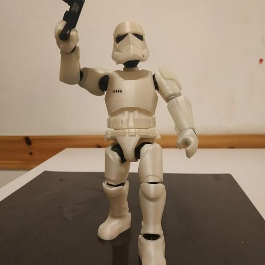 Download 3D printer files Stormtrooper Articulated, Stikka_Design