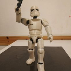 Download 3D printer files Stormtrooper Articulated, Stikka_Design