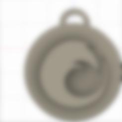 Télécharger fichier imprimante 3D gratuit porte-clés(firefox), zaidkayed3