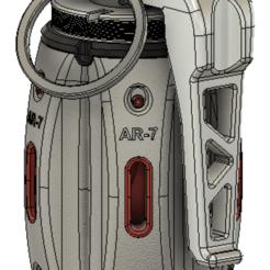 Free 3D printer model Hand Grenade assembly model, RubyFOX