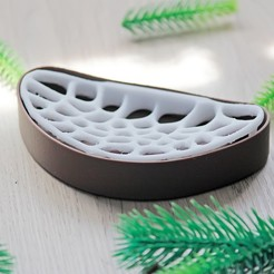 Download free 3D printing files Coral Soap Dish, RubyFOX