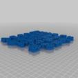Télécharger fichier STL gratuit Alphabet cyrillique - formulaires pour les biscuits (coockie cutter) • Objet à imprimer en 3D, RubyFOX
