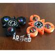 Archivos STL art3d-clb HAND SPINNER geométrico 3 bolas geométrico, art3d