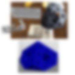 STL files art3d-clb Menger's sponge, hexagonal section, art3d