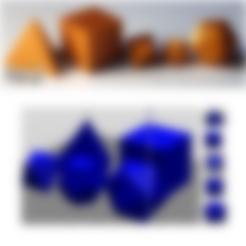 Fichier STL gratuit art3d-clb Solides de Platon (1), art3d