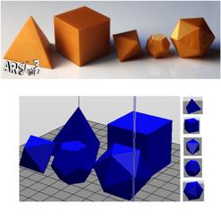 art3d-clb-solides-platon-1.png Download free STL file art3d-clb Plato solids (1) • 3D print model, art3d