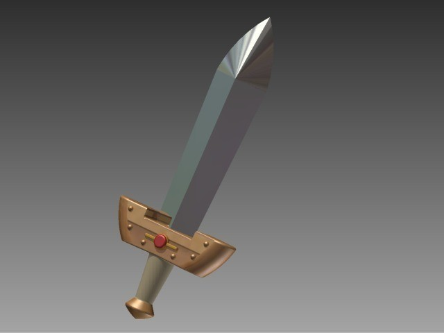 95e86d1221e5c0b6b98abe2fd7a885ea_display_large.jpg Download free STL file Kokiri Sword - Ocarina of Time • 3D printing model, Hoofbaugh