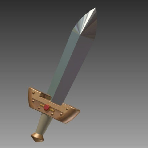 Download free 3D printer model Kokiri Sword - Ocarina of