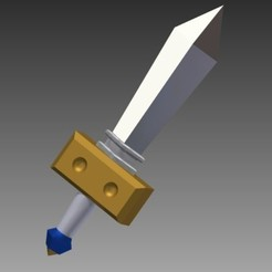 Download free 3D printing files Kokiri Sword Majora's Mask - Redone, Hoofbaugh