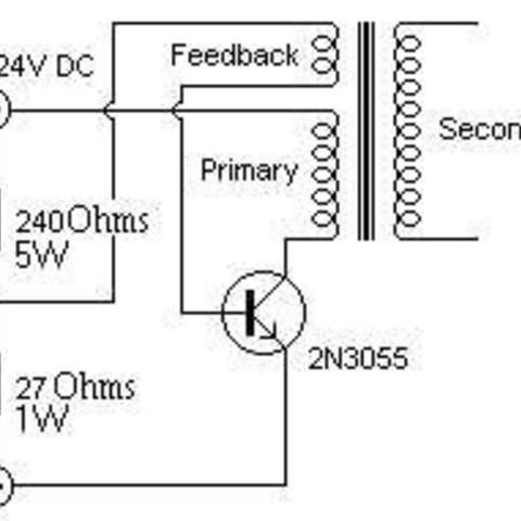 schematic1_display_large.jpg Télécharger fichier STL gratuit Facile - Circuit d'attaque haute tension - Flyback • Design pour impression 3D, Hoofbaugh