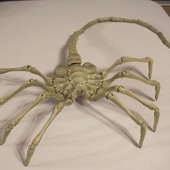 Descargar archivos STL gratis Agisis Ultimate Alien Face Hugger (40in x 23in - LIFE SIZE!), Hoofbaugh