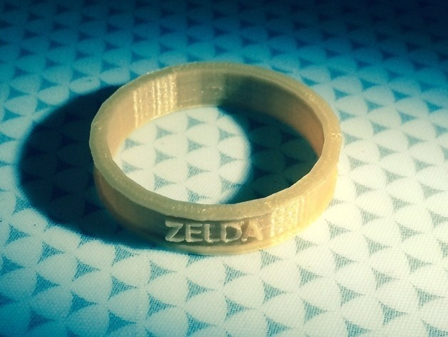 FullSizeRender_35_preview_featured_display_large.jpg Download free STL file Triforce Zelda Ring • 3D print template, Hoofbaugh