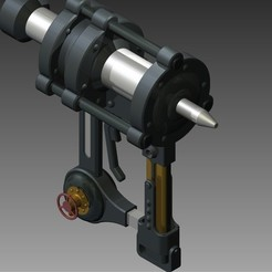 Free STL files Piercing gun - Kabaneri of the Iron Fortress, Hoofbaugh
