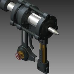 2ad7bf9d12a3003863e81eb802ba2b48_display_large.jpg Download free STL file Piercing gun - Kabaneri of the Iron Fortress • 3D printer template, Hoofbaugh