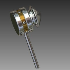 Download free 3D model Hammer, Hoofbaugh