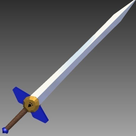 Download free 3D printing templates Biggoron's Sword - Redone, Hoofbaugh