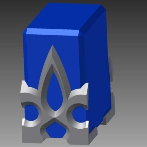 Download free 3D printer designs Teleport Crystal - SAO ・ Cults