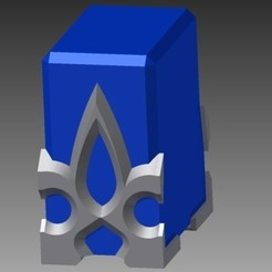 Download free 3D printer designs Teleport Crystal - SAO, Hoofbaugh