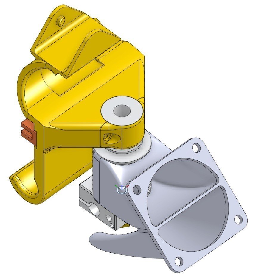 2015-05-21_17-13-45_01_display_large.jpg Download free STL file Compact Prusa i3 Bowden Extruder X-Carriage • Object to 3D print, Palemar