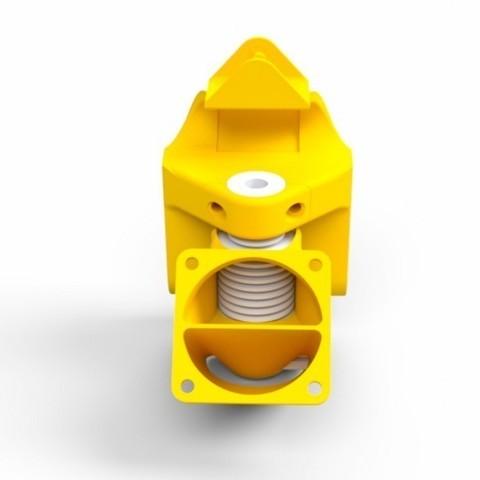 Télécharger modèle 3D gratuit Extrudeuse compacte Prusa i3 Bowden X-Carriage, Palemar