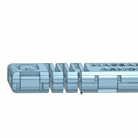 magsafe_armor_display_large.jpg Télécharger fichier STL gratuit Armure Magsafe • Modèle pour impression 3D, Palemar