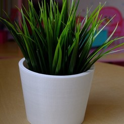 Free 3D printer model Plant pot, Palemar