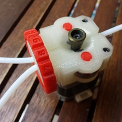 Free 3D printer designs Saintflint Extruder, Palemar