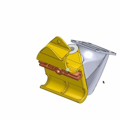 animated_gif_display_large.jpg Download free STL file Compact Prusa i3 Bowden Extruder X-Carriage • Object to 3D print, Palemar