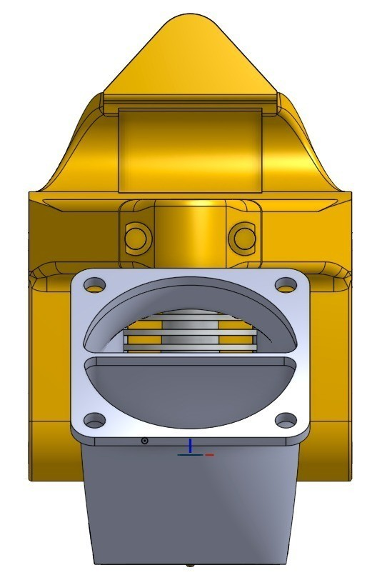 2015-05-21_17-13-45_display_large.jpg Download free STL file Compact Prusa i3 Bowden Extruder X-Carriage • Object to 3D print, Palemar