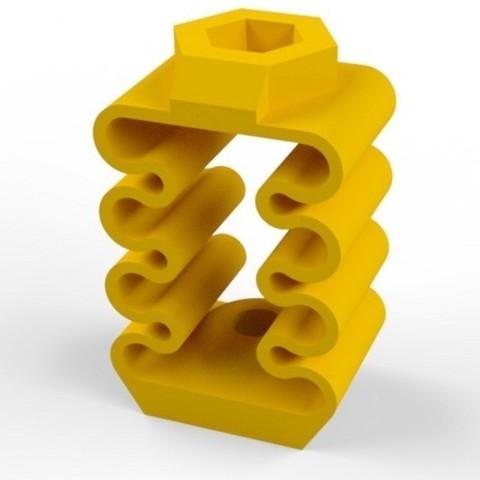 Télécharger plan imprimante 3D gatuit Z Add-on anti-backlash pour Prusa i3, Palemar