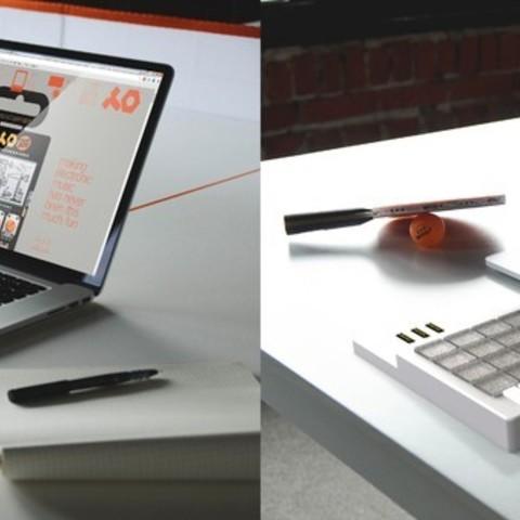 combined_display_large.jpg Télécharger fichier STL gratuit Teenage Engineering PO-12 étui avec clés • Objet imprimable en 3D, Palemar