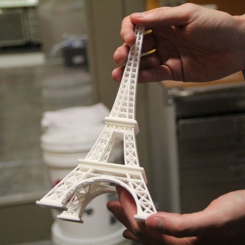 Free 3D printer files Eiffel tower, Palemar