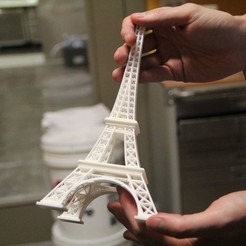 Download free 3D printer files Eiffel tower, Palemar
