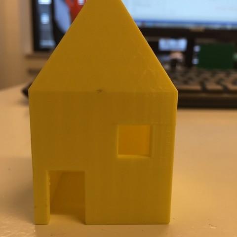 Free 3D printer model Little house, Palemar